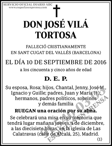 José Vilá Tortosa